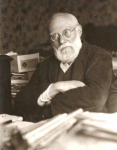 Paul Otlet: Der 1868 geborene Belgier ist einer der lŠngst vergessenen Technikpioniere. Dieses Bild zeigt ihn 1932.